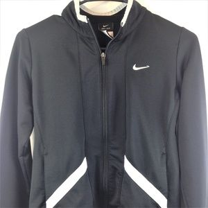 Nike Youth Black Long Sleeve Dri Fit Jacket Medium